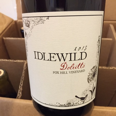 Idlewild  Fox Hill Vineyard Dolcetto 2013