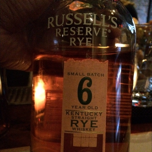 Russell's Reserve 6 Years Old Small Batch Kentucky Straight Rye Whiskey NV