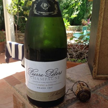 Pierre Péters L'Esprit Grand Cru Brut Blanc de Blancs Champagne  2012