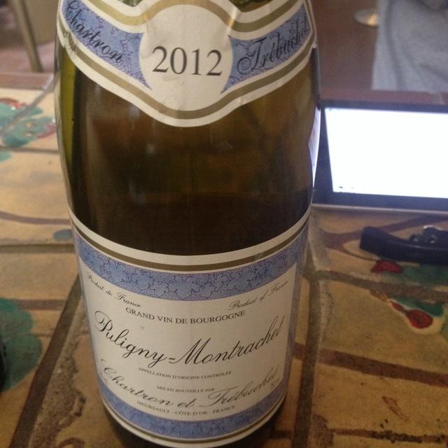 Puligny-Montrachet Chardonnay 2012 (750ml 12bottle)