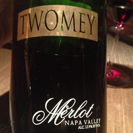 Twomey Napa Valley Merlot 2012