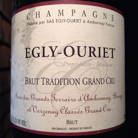 Egly-Ouriet Brut Tradition Grand Cru Champagne Blend