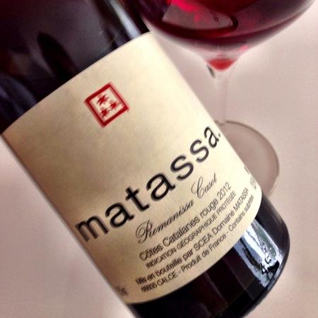 Matassa Romanissa Casot Côtes Catalanes Red Blend 2015