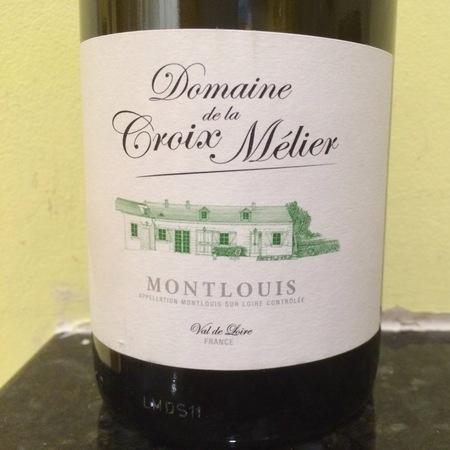 Domaine De La Croix Melier Montlouis 2012