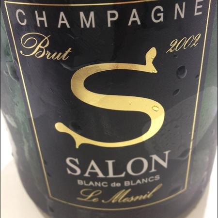 Salon 'S' Blanc de Blancs Brut Le Mesnil Chardonnay 2002