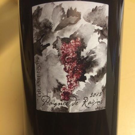 Domaine Gramenon Poignee de Raisins Côtes du Rhône Grenache Blend  2016