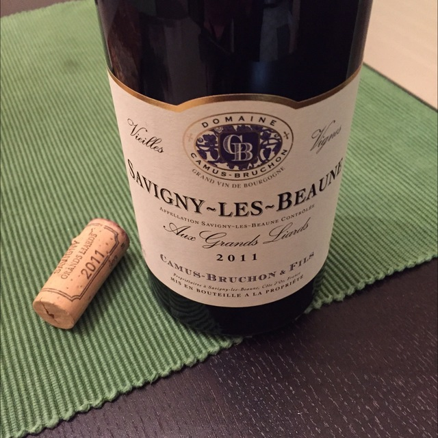 Aux Grands Liards Vieilles Vignes Savigny-lès-Beaune Pinot Noir 2012