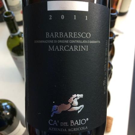 Ca' del Baio (Giulio Grasso) Marcarini Barbaresco Nebbiolo 2011