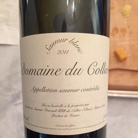 Domaine du Collier Saumur Blanc Chenin Blanc  2013