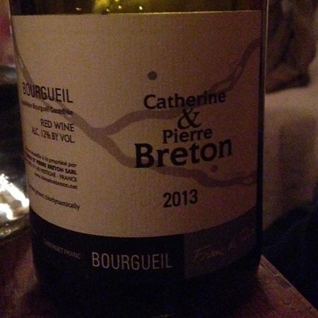 Catherine et Pierre Breton Les Galichets Bourgueil Cabernet Franc 2013