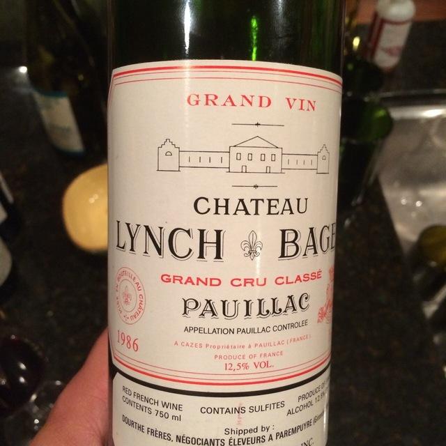 Pauillac Red Bordeaux Blend 1986