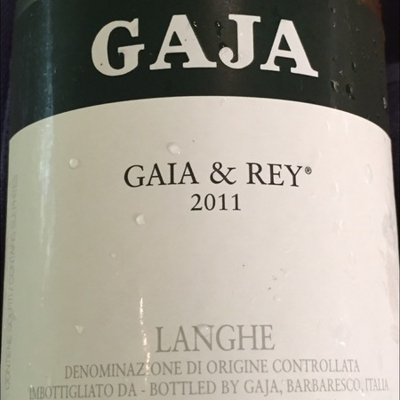 Gaja Gaia & Rey Langhe Chardonnay 2011