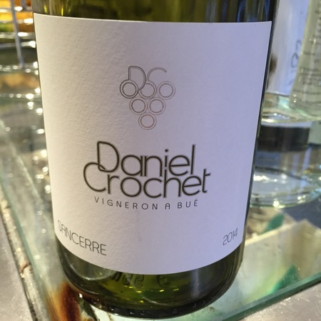 Daniel Crochet Sancerre Sauvignon Blanc 2014