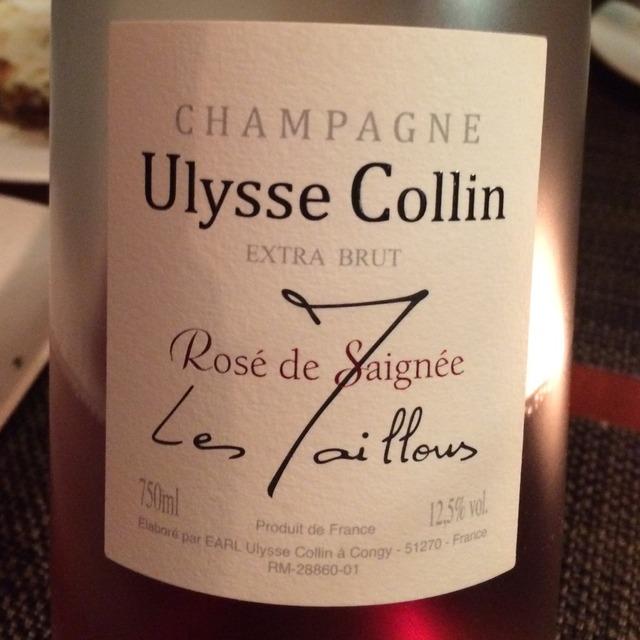 Les Maillons Rosé de Saignee Extra Brut Champagne Pinot Noir 2011