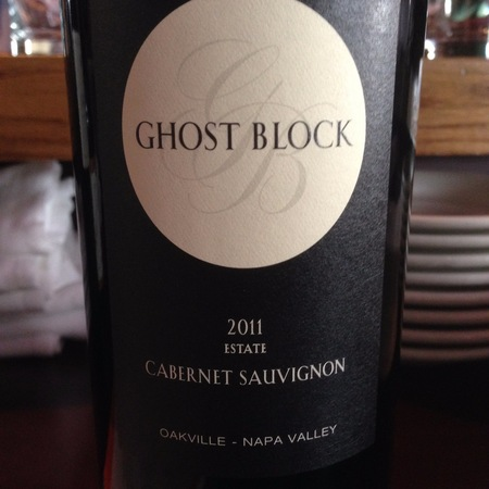 Ghost Block Estate Oakville Cabernet Sauvignon  2013
