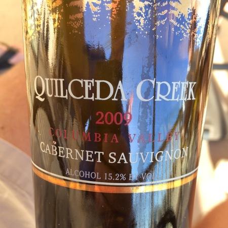 Quilceda Creek Washington Cabernet Sauvignon 2009
