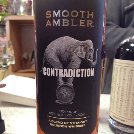 Smooth Ambler Spirits Contradiction A Blend of Straight Bourbon Whiskies NV