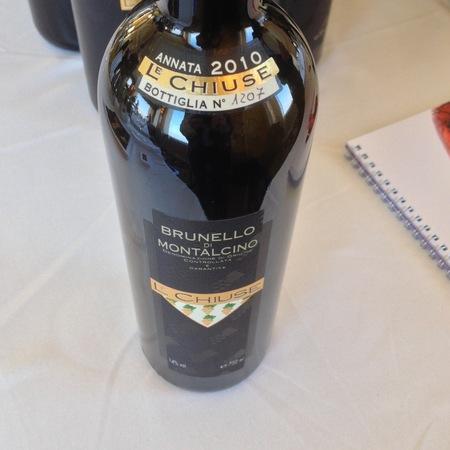 Le Chiuse Brunello di Montalcino Sangiovese 2010 (375ml)