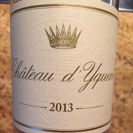 Château d'Yquem Sauternes Sémillon-Sauvignon Blanc Blend 2013 (375ml)