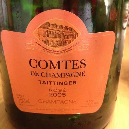 Taittinger Comtes de Champagne Brut Rosé Champagne  2006