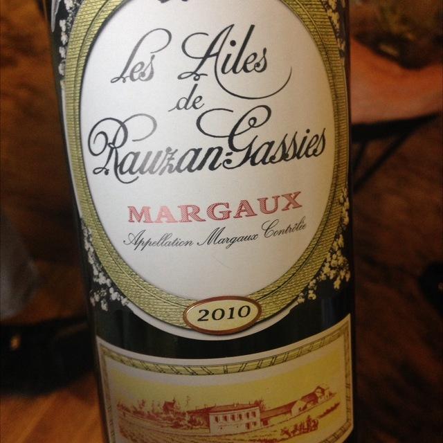 Margaux Red Bordeaux Blend 2010