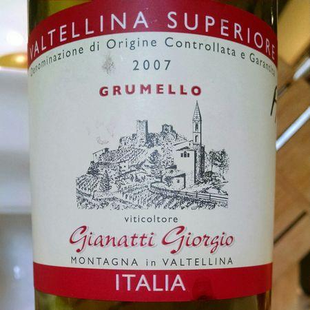 Gianatti Giorgio Grumello Valtellina Superiore Nebbiolo Altri  2009