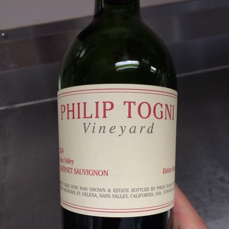 Philip Togni Vineyard Napa Valley Cabernet Sauvignon 2014