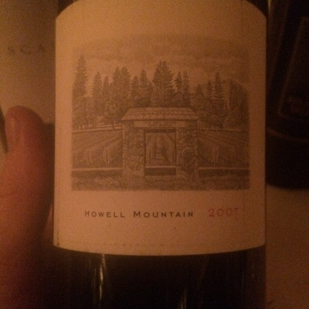Abreu Vineyards Howell Mountain Cabernet Sauvignon Blend 2007