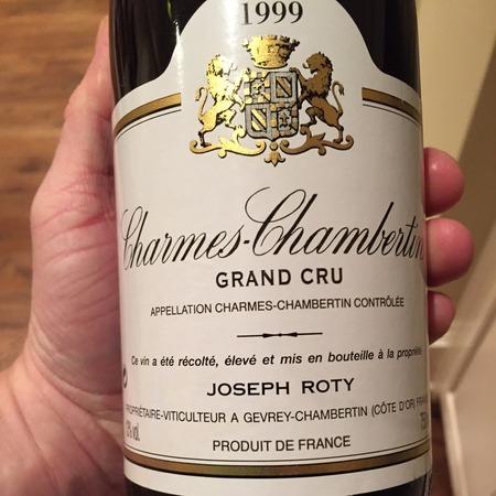 Domaine Joseph Roty Cuvée de Très Vieilles Vignes Charmes-Chambertin Grand Cru Pinot Noir 1999