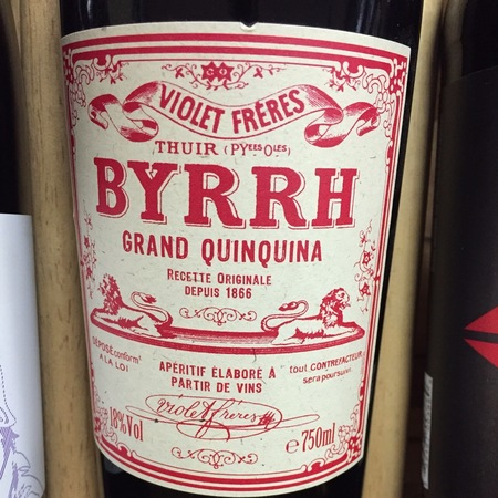 Violet Frères Byrrh Grand Quinquina NV