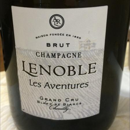 A. R. Lenoble Les Aventures Chouilly Grand Cru Blanc de Blancs Brut Champagne Chardonnay NV