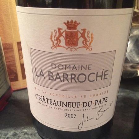 Domaine La Barroche Signature Châteauneuf-du-Pape Grenache Blend 2013