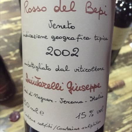 Giuseppe Quintarelli Rosso del Bepi Veneto Corvina Blend 2008