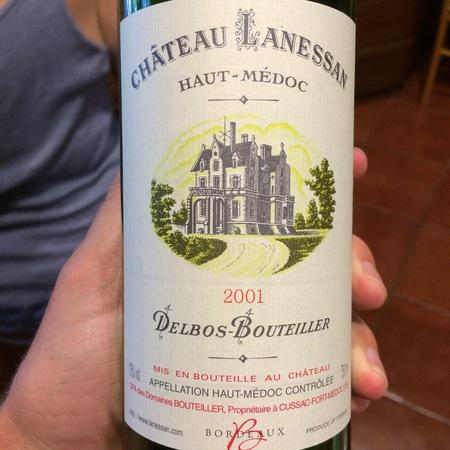 Château Lanessan Haut-Médoc Red Bordeaux Blend 2015