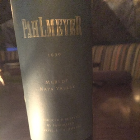 Pahlmeyer Napa Valley Merlot 2013