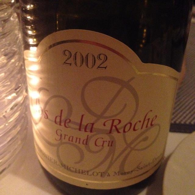 Clos de la Roche Grand Cru Pinot Noir 2002 (1500ml)