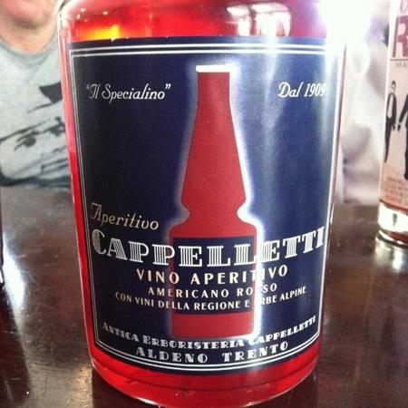 """Cappelletti """"Il Specialino"""" Vino Aperitivo Americano Rosso Red Blend NV"""