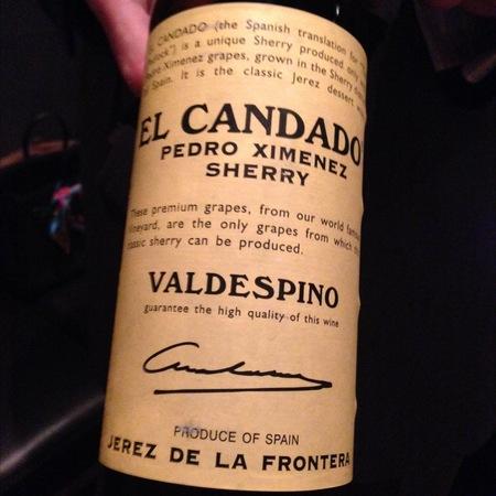 Valdespino El Candado Sherry Pedro Ximénez (375ml)