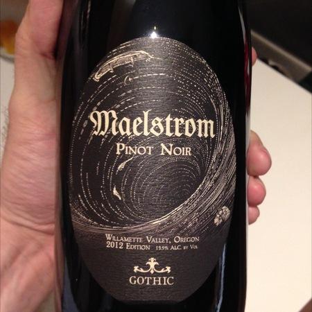 Gothic Wine Maelstrom Willamette Valley Pinot Noir 2013
