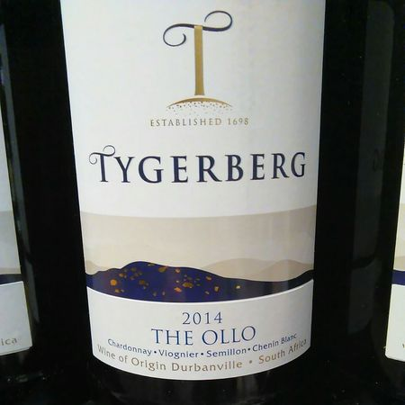Tygerberg The Ollo Chardonnay Blend 2014