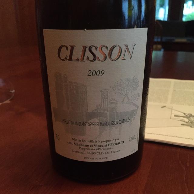 Clisson Muscadet de Sèvre-et-Maine Melon de Bourgogne 2009