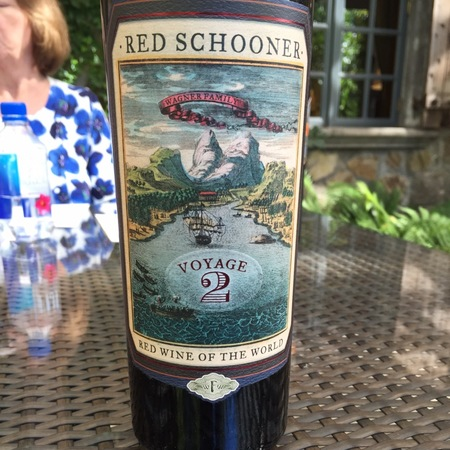 Wagner Family of Wines Voyage 2 Red Schooner Malbec NV