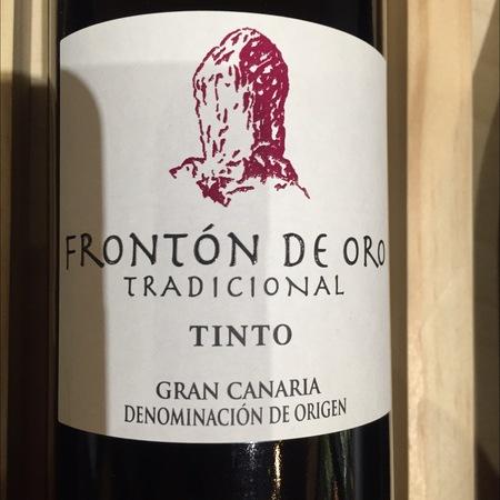 S.A.T. Camaretas Frontón de Oro Tradicional Tinto Gran Canaria Red Blend 2014