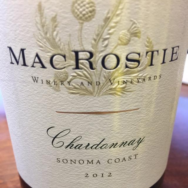 Sonoma Coast Chardonnay 2014