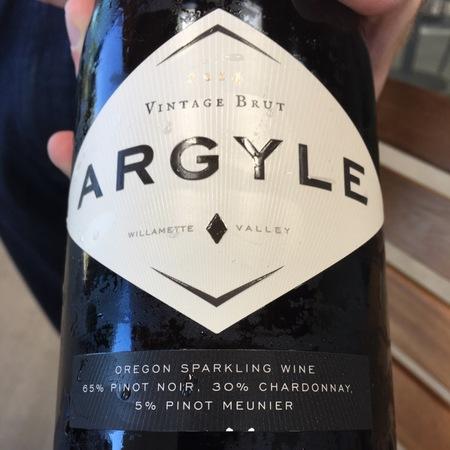 Argyle Vintage Brut Willamette Valley Chardonnay Blend 2013