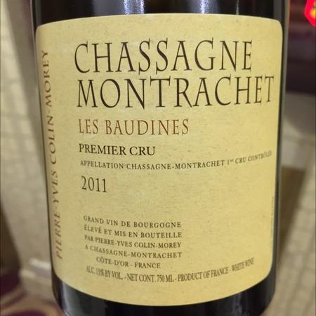 Pierre-Yves Colin-Morey Les Baudines Chassagne-Montrachet 1er Cru Chardonnay 2011