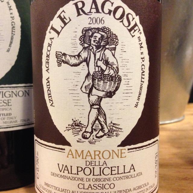 Amarone della Valpolicella Corvina Blend 2006