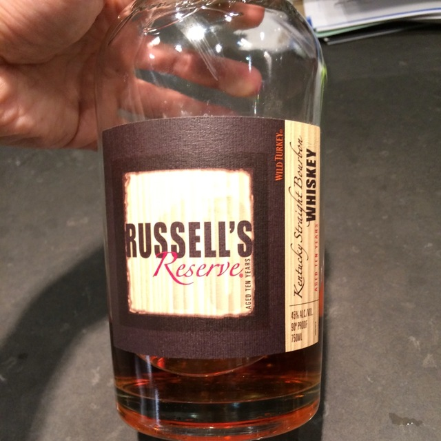 Russell's Reserve 10 Year Old Kentucky Straight Bourbon NV
