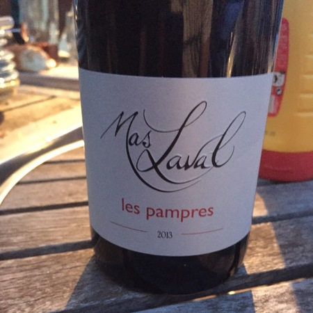 Mas Laval Les Pampres Vin de Pays de l'Hérault Red Blend 2013