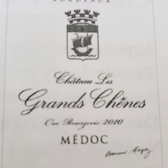 Médoc Red Bordeaux Blend 2010